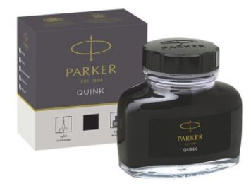 Parker Quink Bottle - Black Ink 57 ml