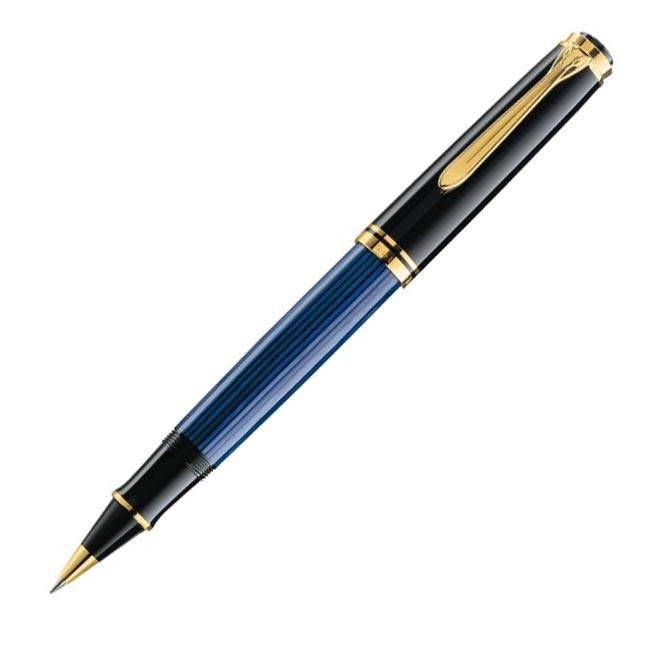 Pelikan Souverän R800 Black Blue Rollerball