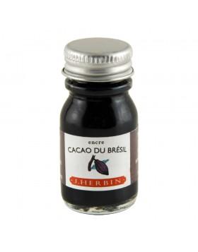 J. Herbin 10ml Ink Bottle Cacao du Brésil (Brazillian brown cocoa)