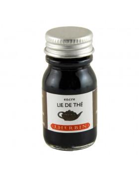 J. Herbin 10ml Ink Bottle Lie de thé (Brown tea)
