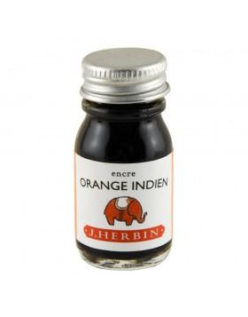 J. Herbin 10ml Ink Bottle Orange indien (Indian orange)