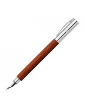Faber Castell Ambition Pearwood Brown 148182 Fountain Pen (Extra Fine)