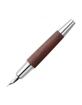 Faber Castell e-motion Pearwood Dark Brown 148211 Fountain Pen
