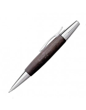 Faber Castell e-motion Pearwood Black 148383 Ballpoint Pen