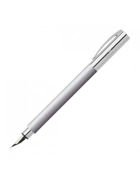 Faber Castell Ambition Metal 148391 Fountain Pen (Fine)