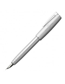 Faber Castell Loom Metallic Silver 149200 Fountain Pen (M)