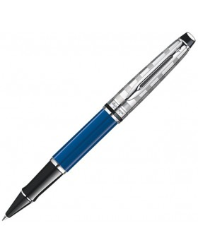 Waterman  Expert III Deluxe Blue Obsession Rollerball Pen
