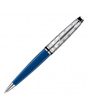 Waterman  Expert III Deluxe Blue Obsession Ballpoint Pen