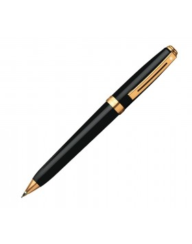 Sheaffer Prelude Black Lacquer 22K GT 355 Mechanical Pencil