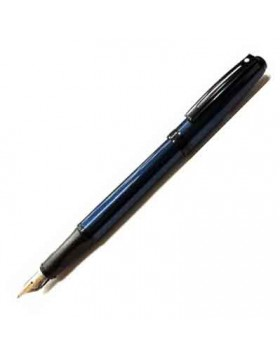 Sheaffer Prelude Blue Metallic BT 380 Fountain Pen (B Nib)