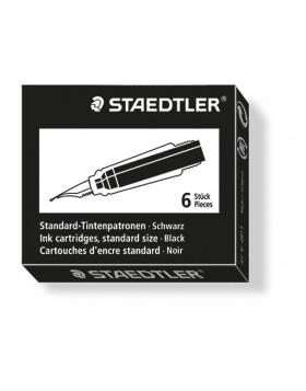 Staedtler Ink Cartridge Black (Short)
