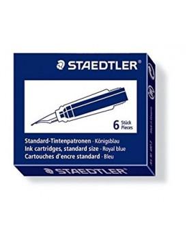 Staedtler Ink Cartridge Blue (Short)
