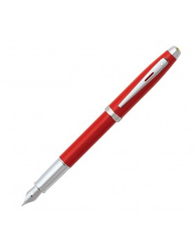 Sheaffer Ferrari 100 Rosso Corsa Featuring Nicked Plated Trim Fountain pen