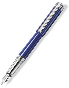 STAEDTLER Initium Resina Resin Blue Fountain Pen (B Nib)