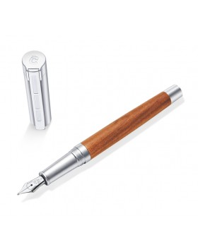 STAEDTLER Initium Lignum Plum Wood Fountain Pen (F Nib)