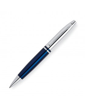 Cross Calais Chrome Blue Ballpoint
