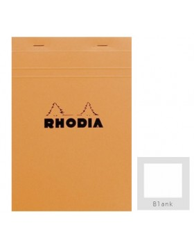 RHODIA Classic Orange Notepad A5 (Blank)