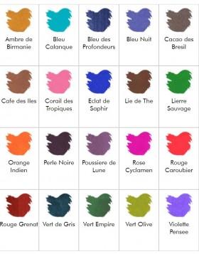 J. Herbin 10ml Ink Bottle Violette pensée (Pensive violet)