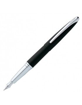 Cross ATX Basalt Black Fountain Pen (M Nib) 886-36