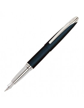 Cross ATX Juniper Blue Fountain Pen (B Nib) 886-23