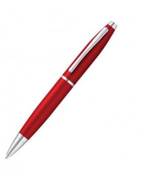 Cross Calais Red Lacquer Chrome Ballpoint Pen