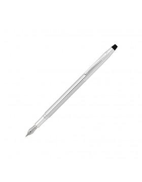 Cross Classic Century Lustrous Chrome Fountain Pen (Fine Nib)