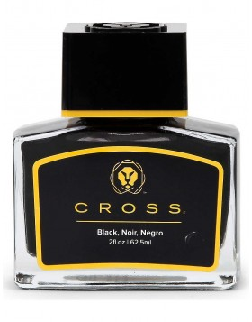 Cross Fountain Pen Ink Refill 62.5ml Bottle (Black)