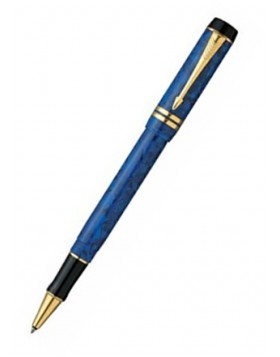Parker Duofold International Lapis Blue Rollerball