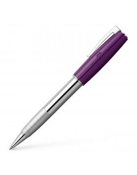 Faber Castell Loom Piano Plum 149295 Rollerball Pen