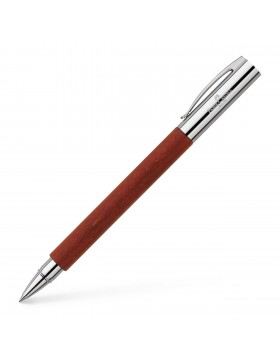 Faber Castell Ambition Pearwood Brown 148111 Rollerball Pen