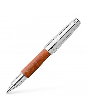 Faber Castell e-motion Wood Brown 148205 Rollerball Pen