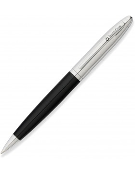 Franklin Covey Lexington Midnight Black Lacquer/Chrome Ballpoint
