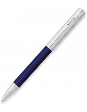 Franklin Covey Greenwich Chrome/Evening Blue Lacquer Ballpoint