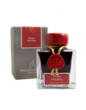J. HERBIN ROUGE HEMATITE 1670 ANNIVERSARY INK (50ML BOTTLED INK)