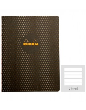 RHODIA Heritage Sewn Moucheture A5 Notebook (Lined)