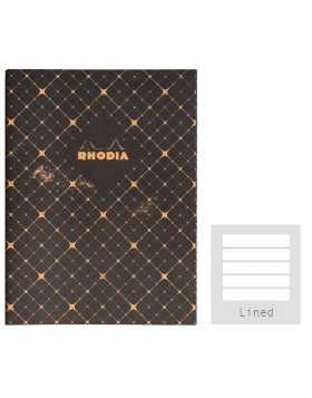 RHODIA Heritage Sewn Quadrielle A5 Notebook (Lined)