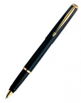 Parker Inflection Intense Black Rollerball