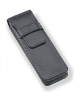 Staedtler Initium Black Pen Pouch  9PLE2ET1-9 - 2 Pen Case