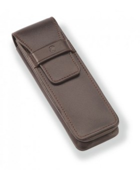 Staedtler Initium Brown Pen Pouch 9PLE2ET1-7 - 2 Pen Case