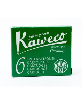 Kaweco Fountain Pen Ink Cartridge Palm Green