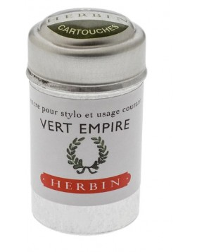 J. Herbin Ink Cartridges Vert Empire (Empire Green)