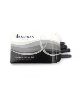 Waterman Ink Cartridges- Intense Black