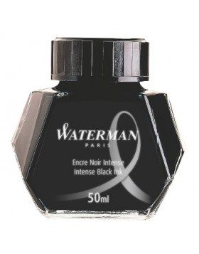 Waterman 50ml Ink Bottle  - Intense Black
