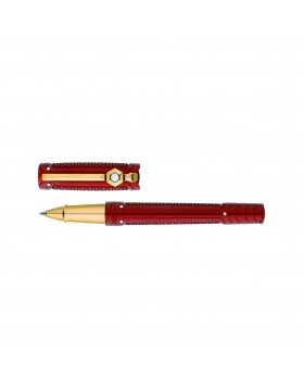 S.T. Dupont Line D Iron Man 412706 Rollerball Pen (in Red)