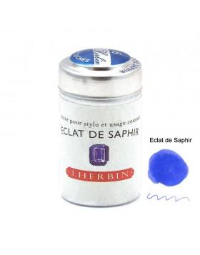 J. Herbin Ink Cartridges Eclat de Saphir  (Sapphire Blue)