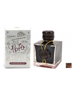 J. HERBIN Cyprus Corob 1670 ANNIVERSARY INK (50ML BOTTLED INK)