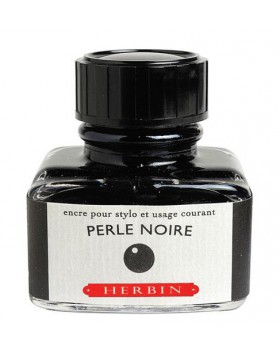 J. HERBIN Pearl Black Ink Bottle 30ml
