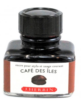 J. HERBIN Cafe Des Iles Ink Bottle 30ml