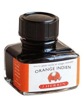 J. HERBIN Orange Indien Ink Bottle 30ml