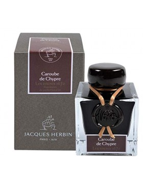 J. HERBIN Cyprus Corob 1670 ANNIVERSARY INK (50ML BOTTLED INK) - New